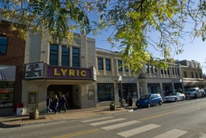 Lyric Theater in downtown Blacksburg