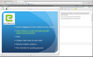 Student Screen View